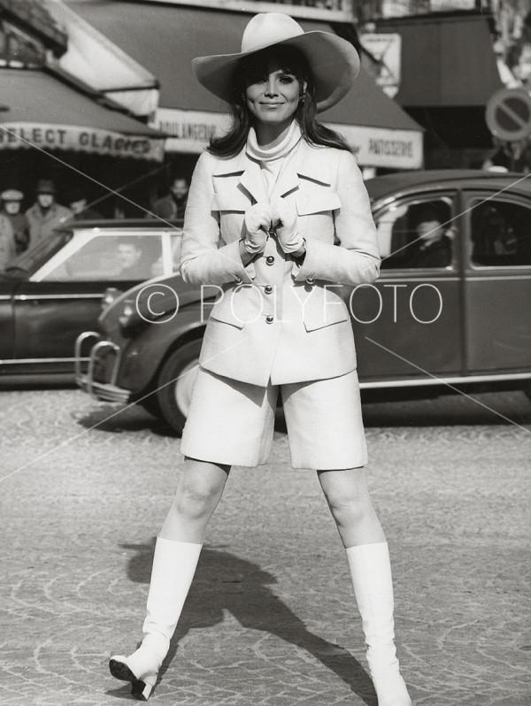 Fra motehuset Ricci, Paris, 1967