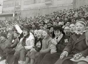 Jubel på Bislett Stadion, OL 1952