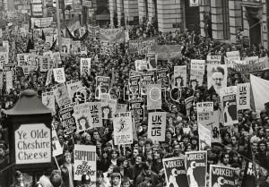 Demonstrasjon oktober 1968