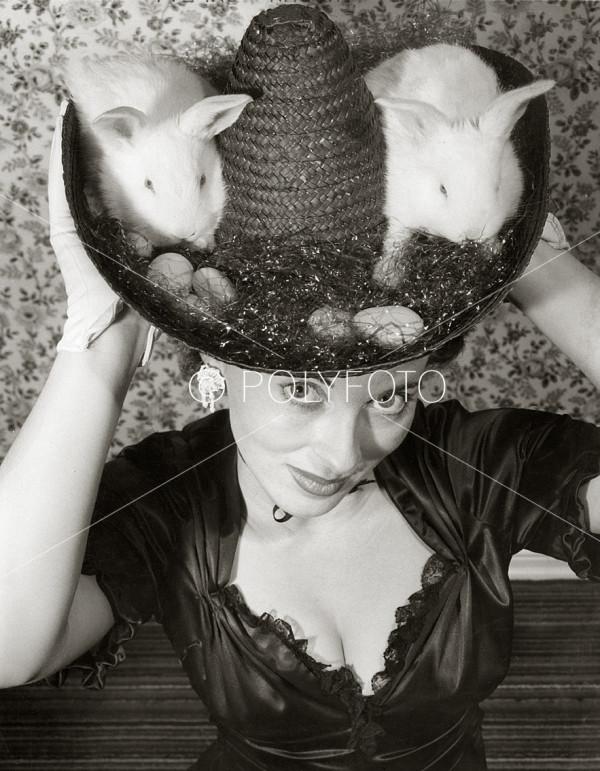 Hatt uten tittel, London, 1950