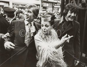 Johnny Ray, Judy Garland og ektemannen Mickey Dean, London 1969