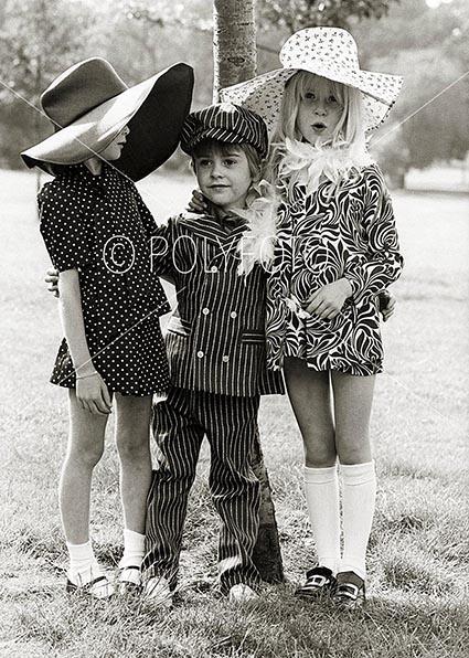 Debby, Nicky og Gaby - mote fra London 1968
