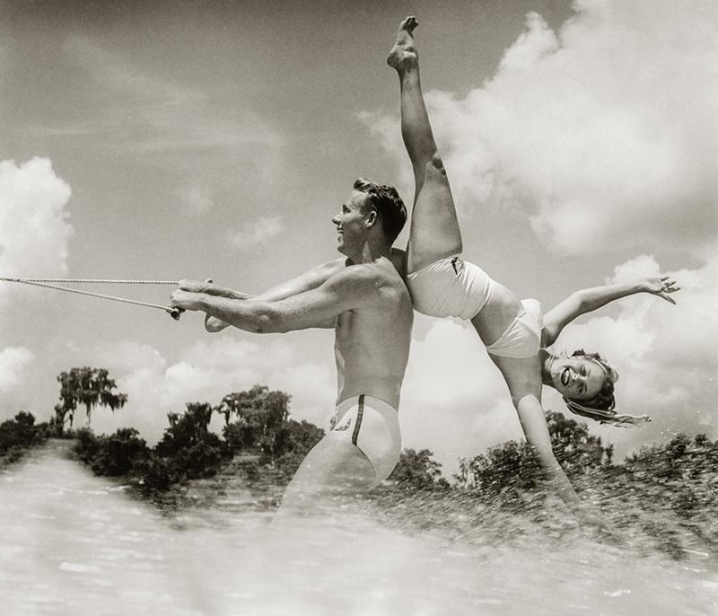 Cypress Gardens, Florida 1955