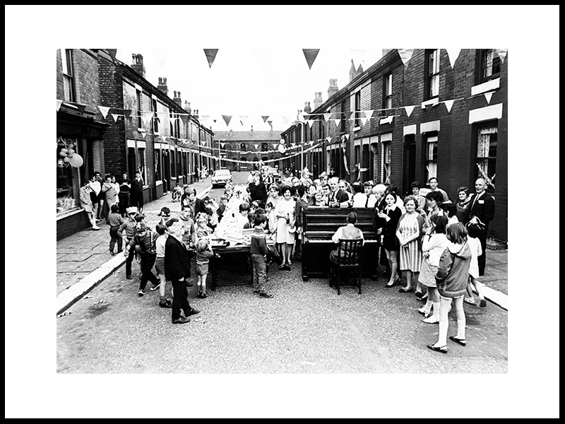 Last Party Before The Houses Are Demolished, 1969