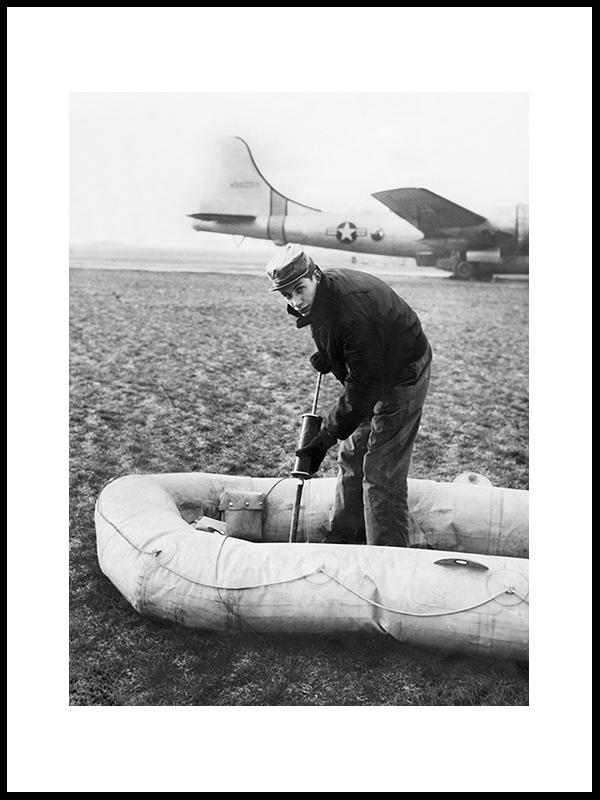 Pilot R.Leming Og Nødflåten. USA,1953