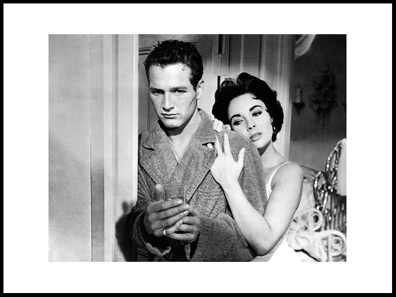 Paul Newman og Elizabeth Taylor, 1958