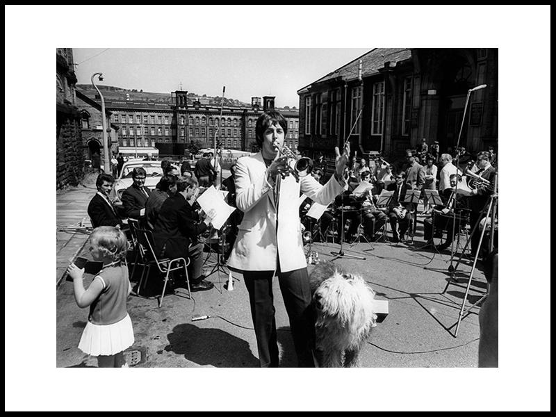 Sir Paul McCartney, 1968.