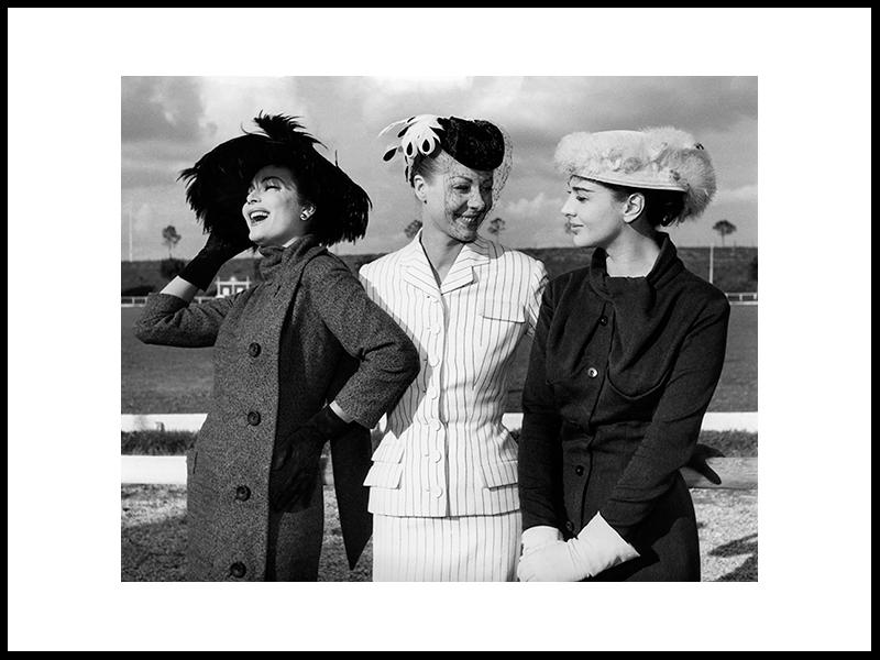 Three Actresses, Rome 1955