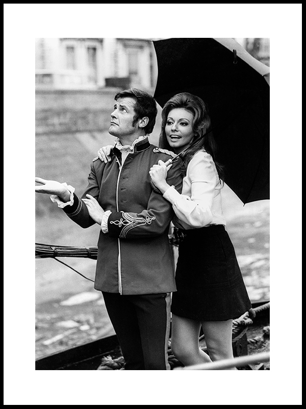 Roger Moore And Claudia Lange, Part I