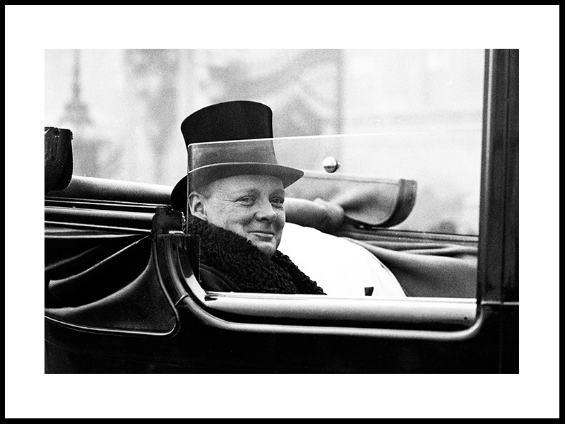 Mr Winston Churchill, England 1924