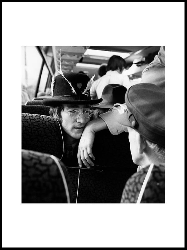 På vei til filminnspilling, 1967