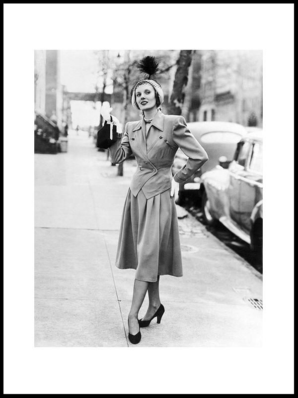 Sommer Mote, New York, 1949