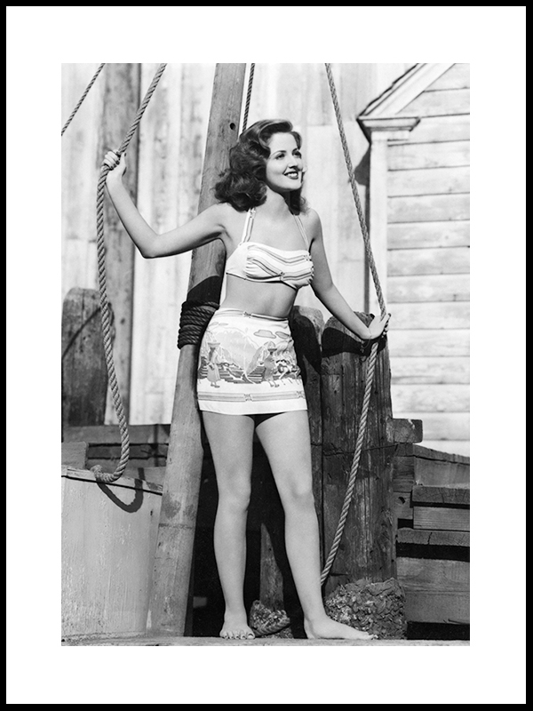 Miss Timber Of 1947, New York