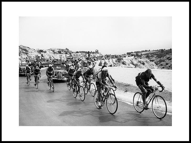 Opp Carpiagne Hill, Frankrike 1951