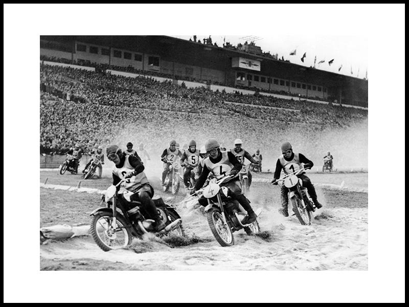 Motor Race I Praha, 1957