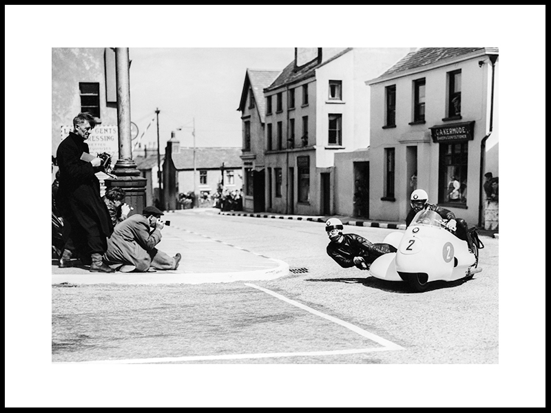 Isle Of Man, T.T. Race, 1956