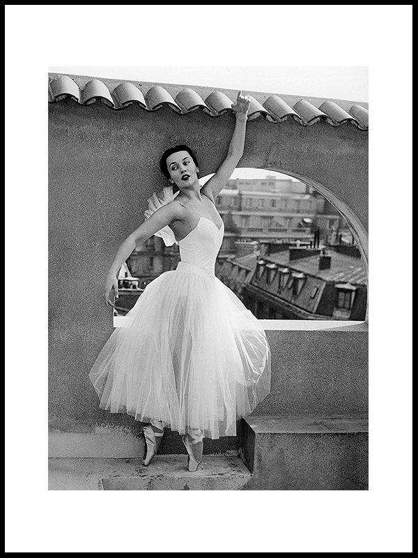 Den verdensberømte ballerina, 1952