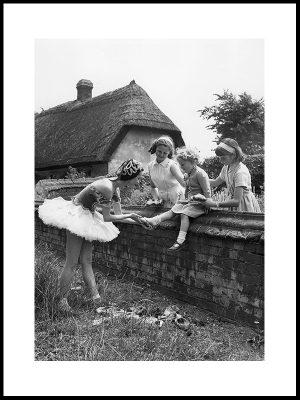 Prøver ballettsko, 1952