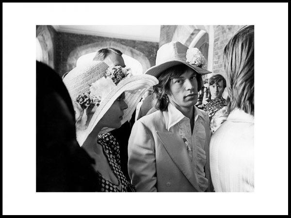 Mick Jagger & Marianne Faithfull i bryllup, 1968