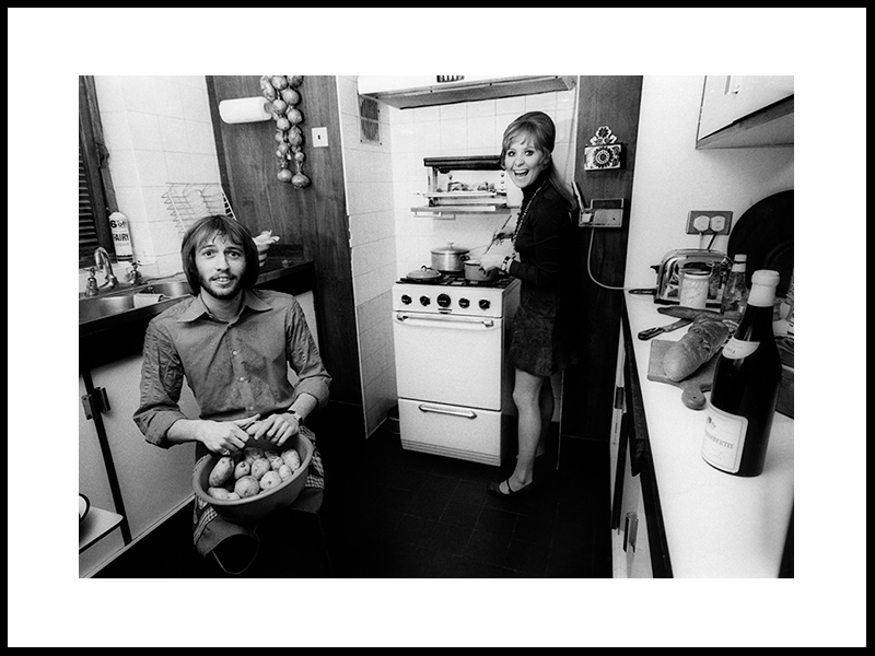 Bee Gees´Maurice Gibb Og Lulu 1969