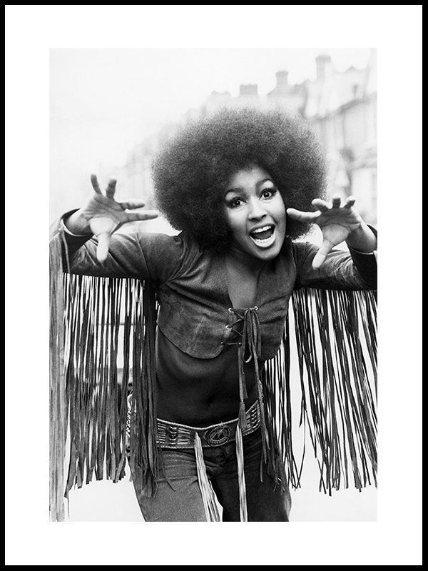 Marsha Hunt, fra musikalen Hair, London 1969