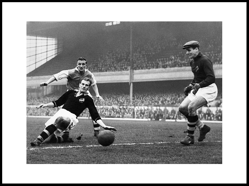 Arsenal – A.I.K At Highbury, 1949