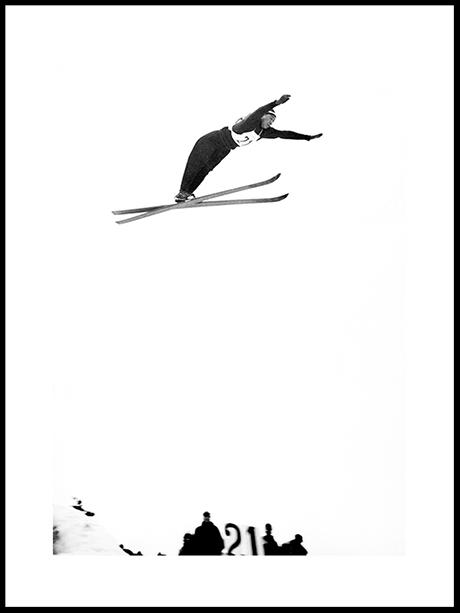 Hopp I Holmenkollen (II), OL 1952