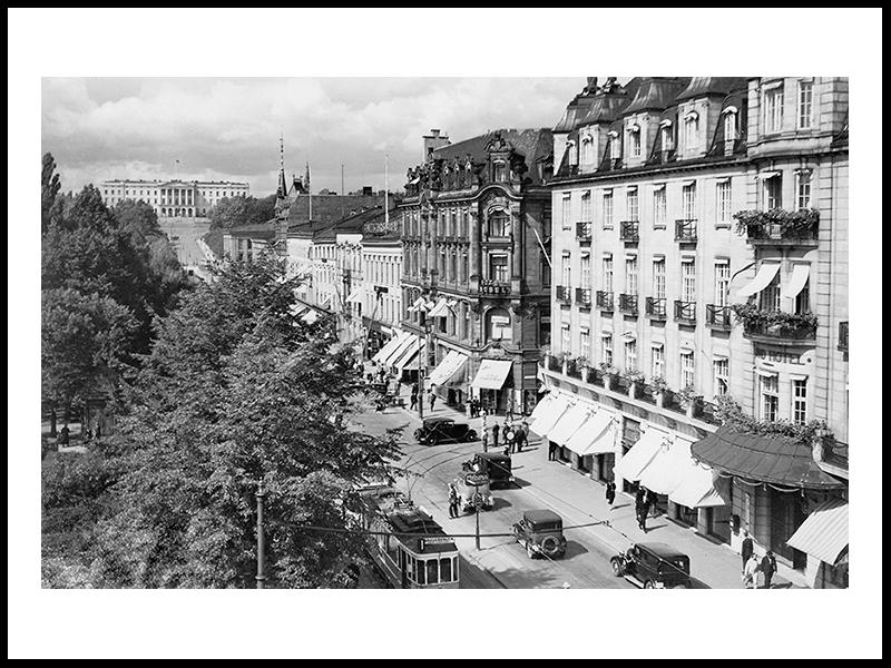 Karl Johan, Grand Hotel, Oslo