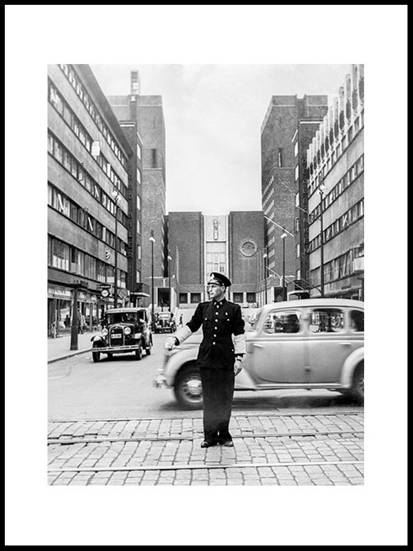 Roald Amundsens Gate, Oslo 1950's