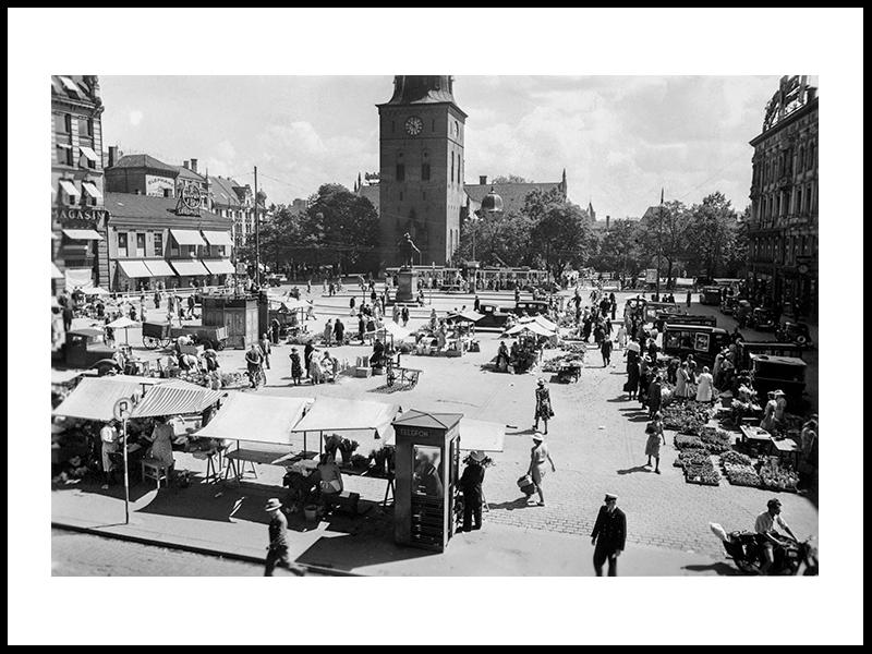 Stortorvet, Oslo 1950s