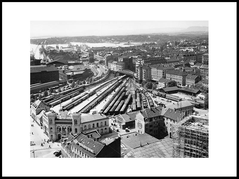 Vestbanen, Oslo 1960
