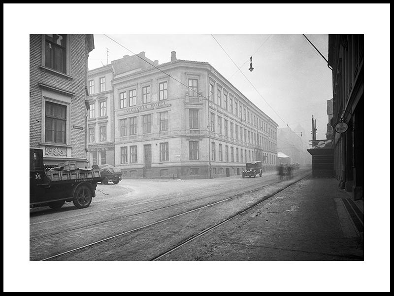 Victoria Hotel, Oslo 1930s