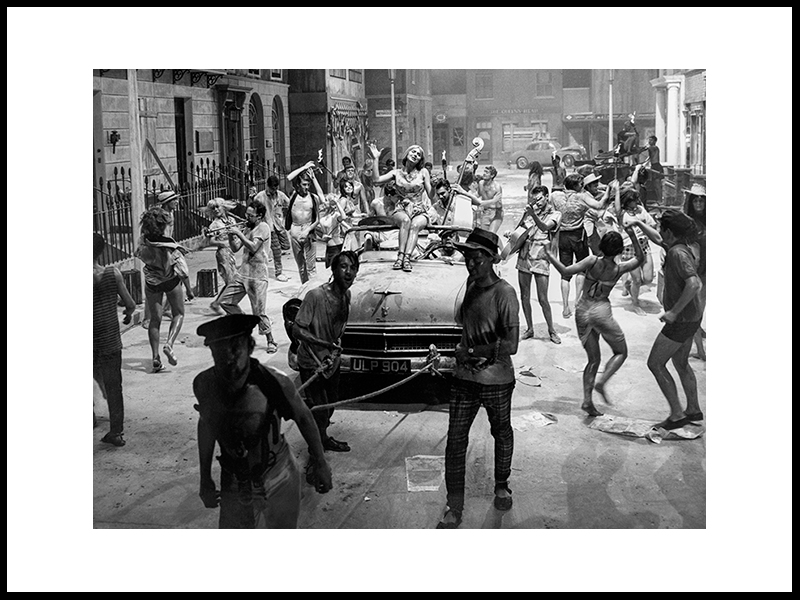 Streetparty, London, 1971