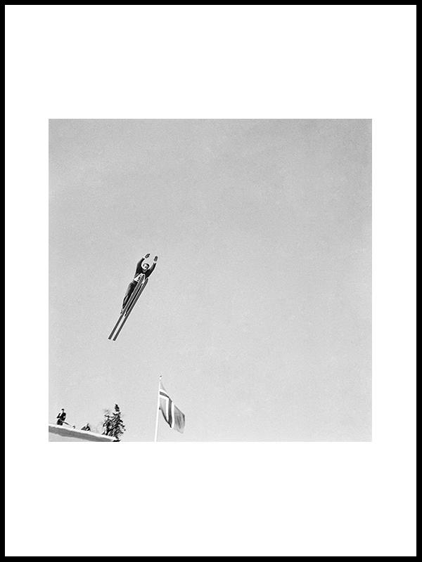 Ski Jumping, Holmenkollen, 1960, II