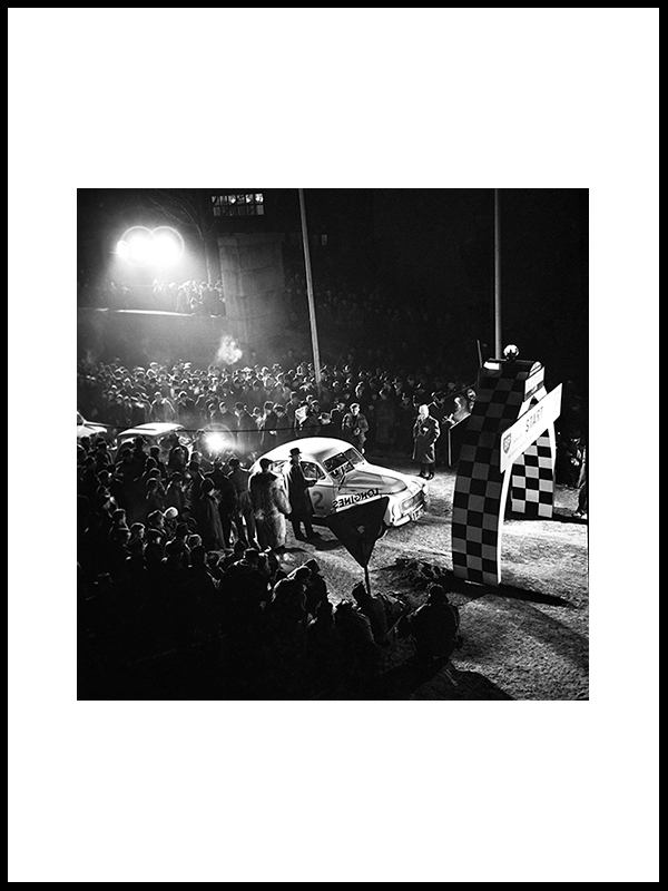 Rallye Monte Carlo, Oslo 1960