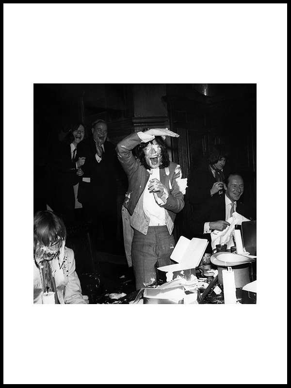 Rolling Stones Lunchparty II, London 1968.