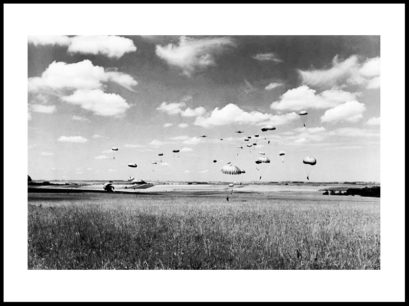 Total Landing Of Parachutists, 1943