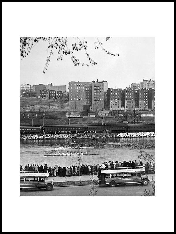 Sweepswingers Mettle, Harlem River,1946