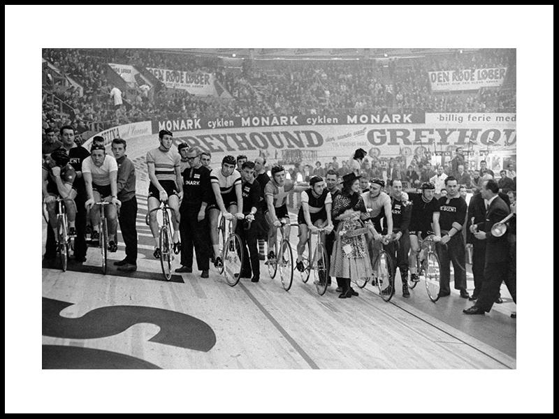 «Seksdagersløbet» I Forum, 1956