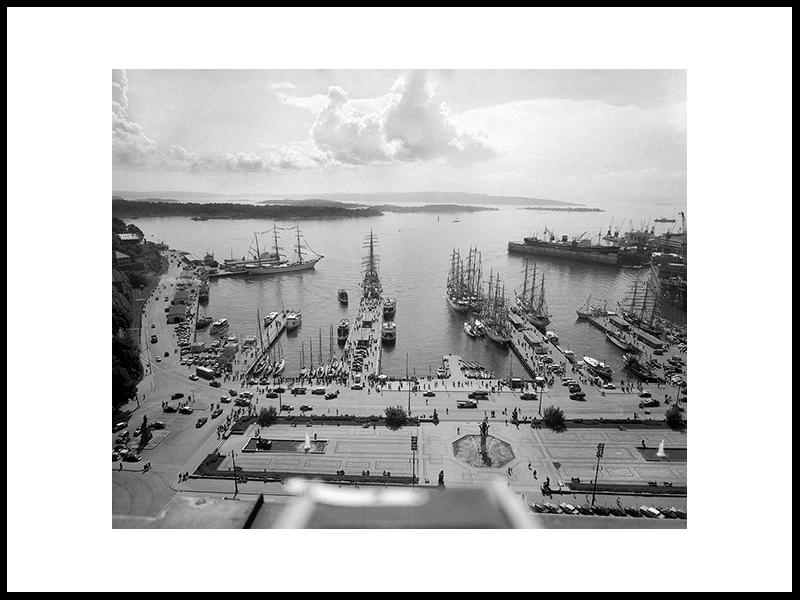 Over Pipervika, Oslo 1959