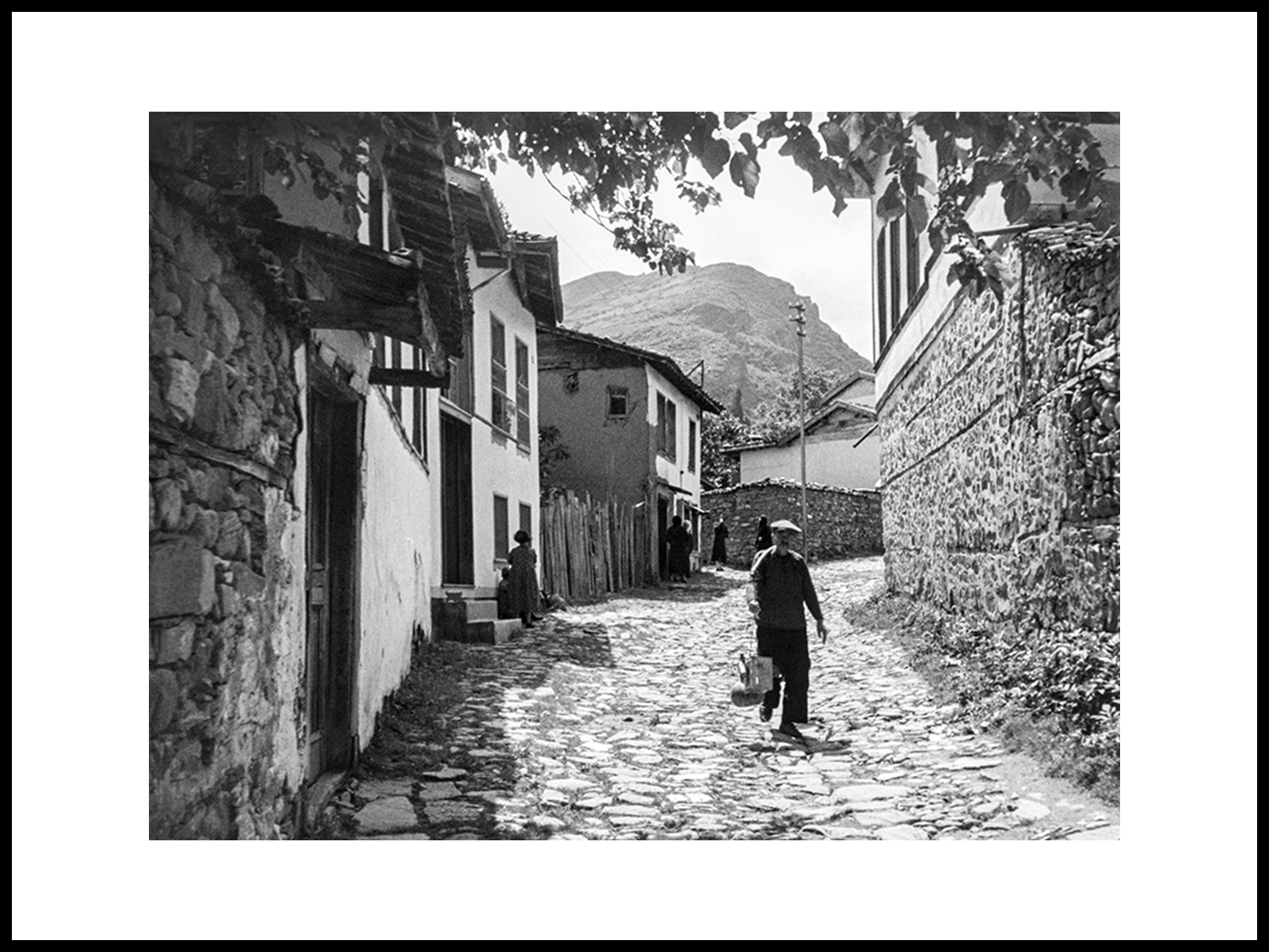 Backstreets In Turkey, 1950's