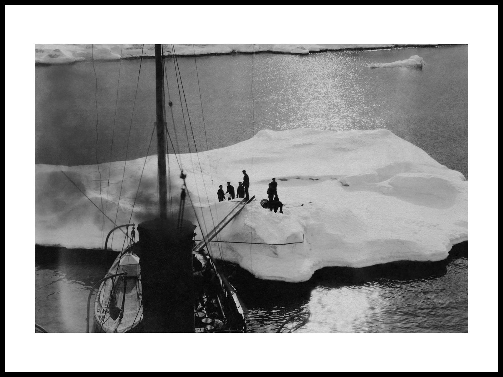 Polarskuten Fram Og Isflaket, 1912